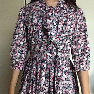 Laura Ashley Maxi Floral Dress